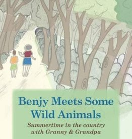 Book, Benjy Meets Some Wild Animals by H.Schultz