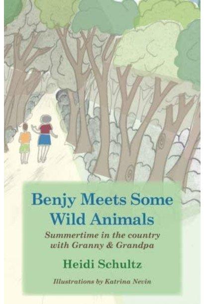 Book, Benjy Meets Some Wild Animals by H.Schultz
