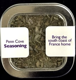 Lavender Wind Penn Cove Seasoning in Tin, 1.5oz