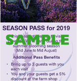 Lavender Wind Season Pass for 2019