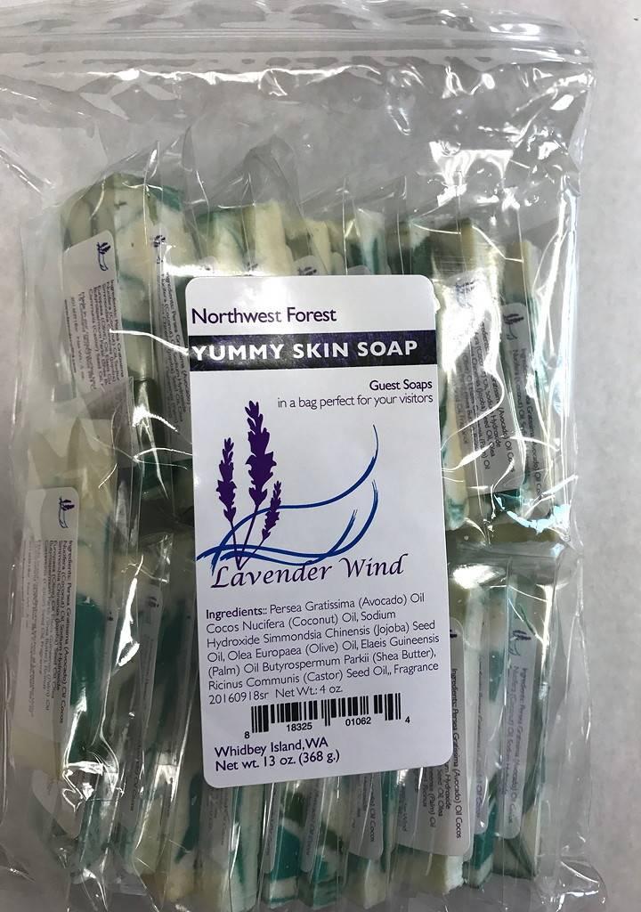Lavender Wind Yummy Skin Guest Bag