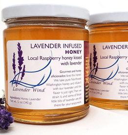 Lavender Wind Lavender Infused Honey - 12 oz.