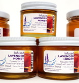 Lavender Wind Lavender Infused Honey - 3 oz.