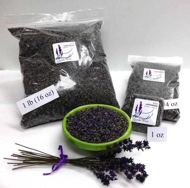 Bulk Lavender Buds - 2020 - 1 oz.-2