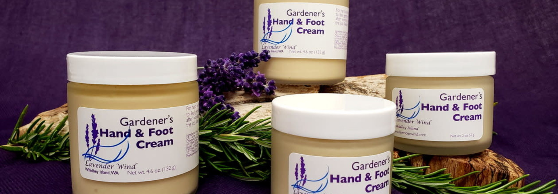 Gardener's Hand & Foot Cream - 2 oz