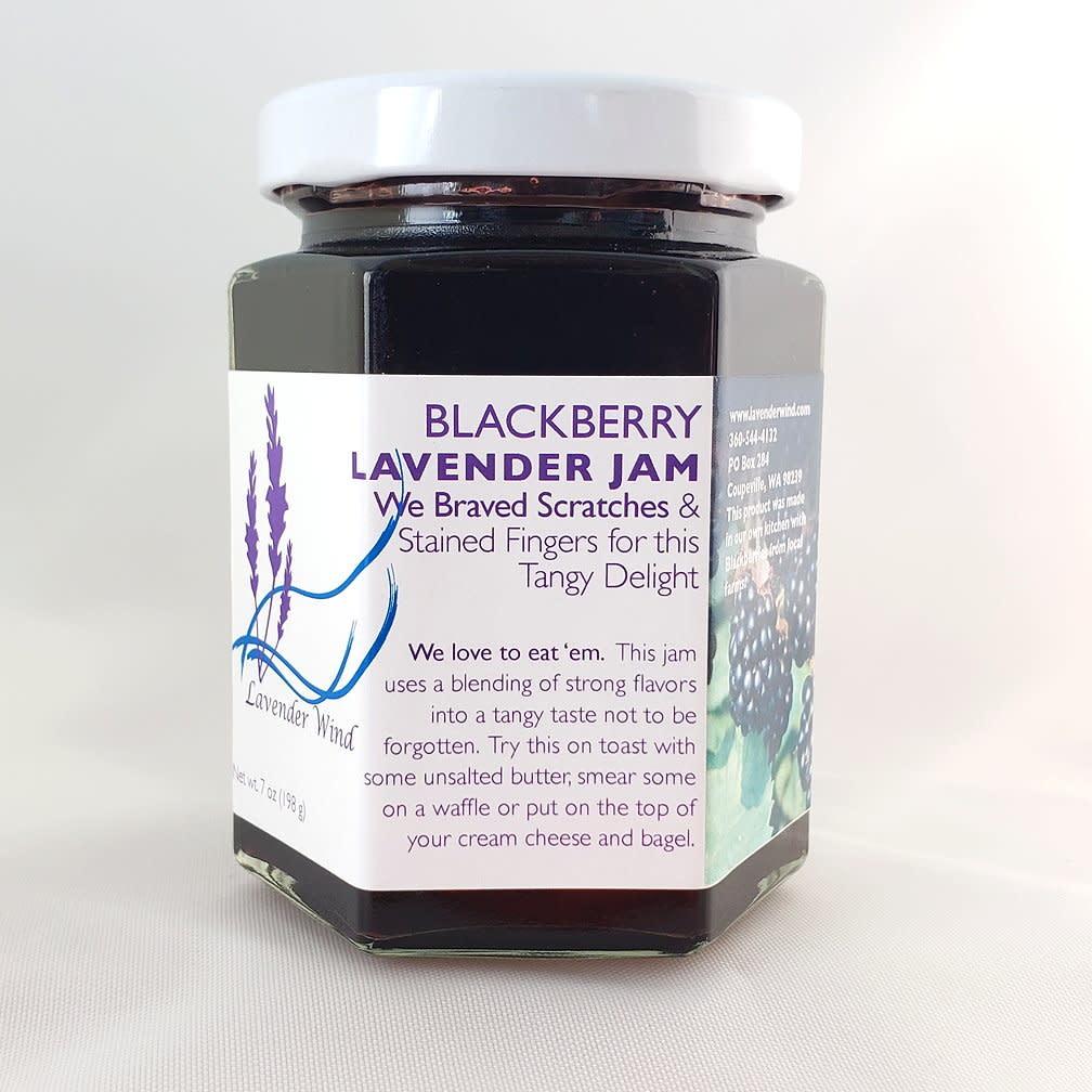 Lavender Wind Blackberry Lavender Jam
