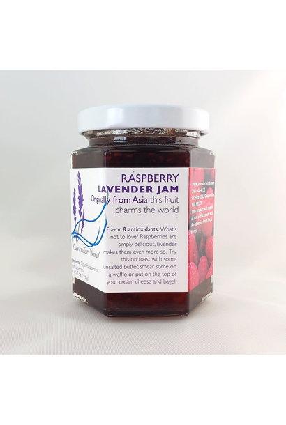 Raspberry Lavender Jam