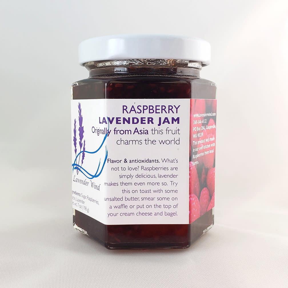 Lavender Wind Raspberry Lavender Jam