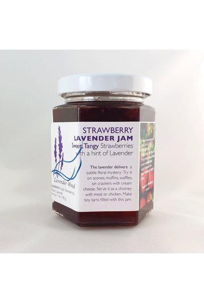 Strawberry Lavender Jam