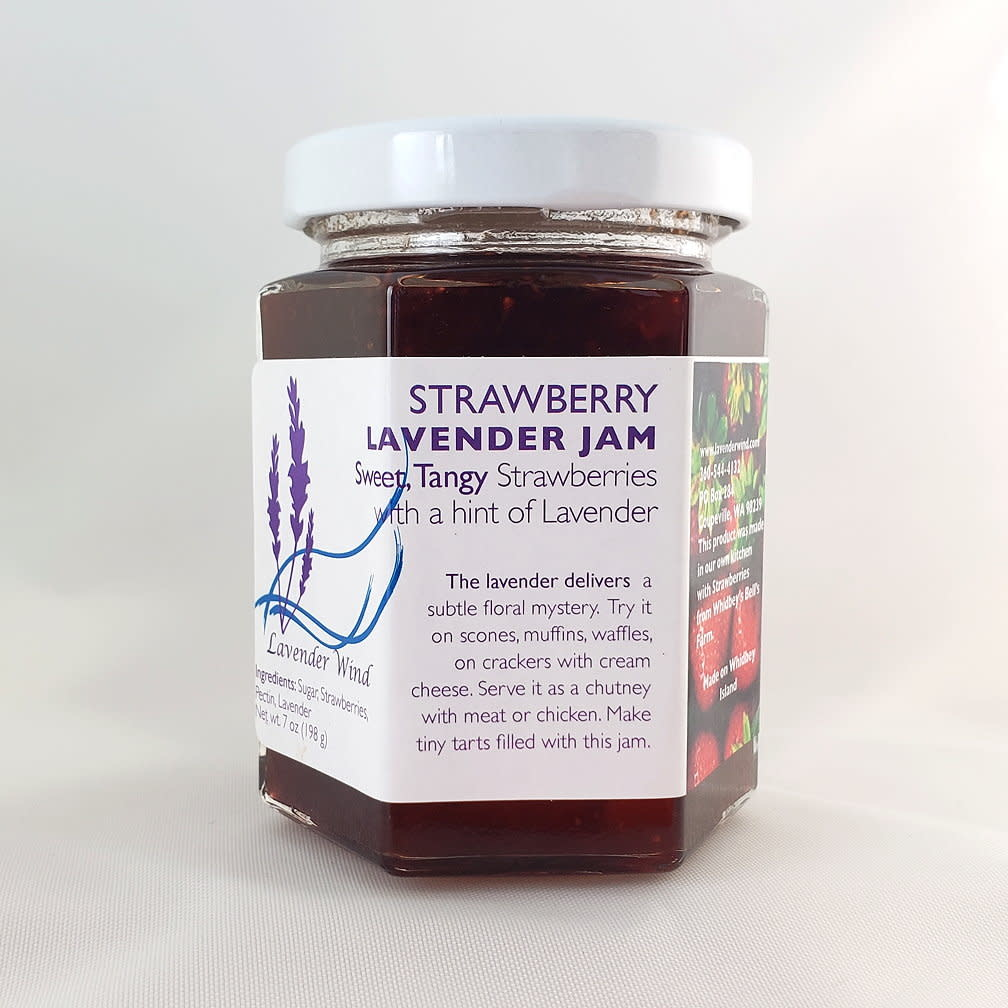 Lavender Wind Strawberry Lavender Jam