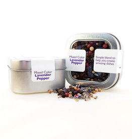 Lavender Wind Pepper, Lavender in tin