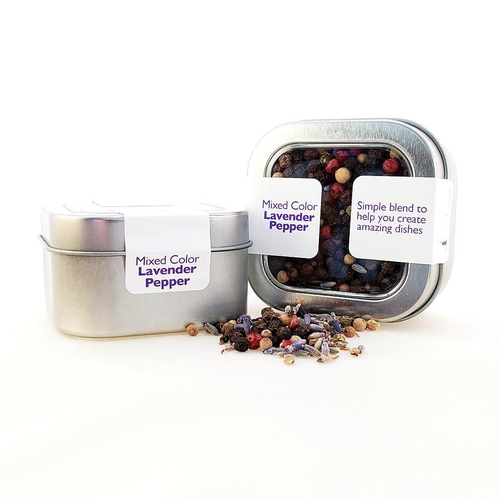 Lavender Wind Pepper, Lavender in tin