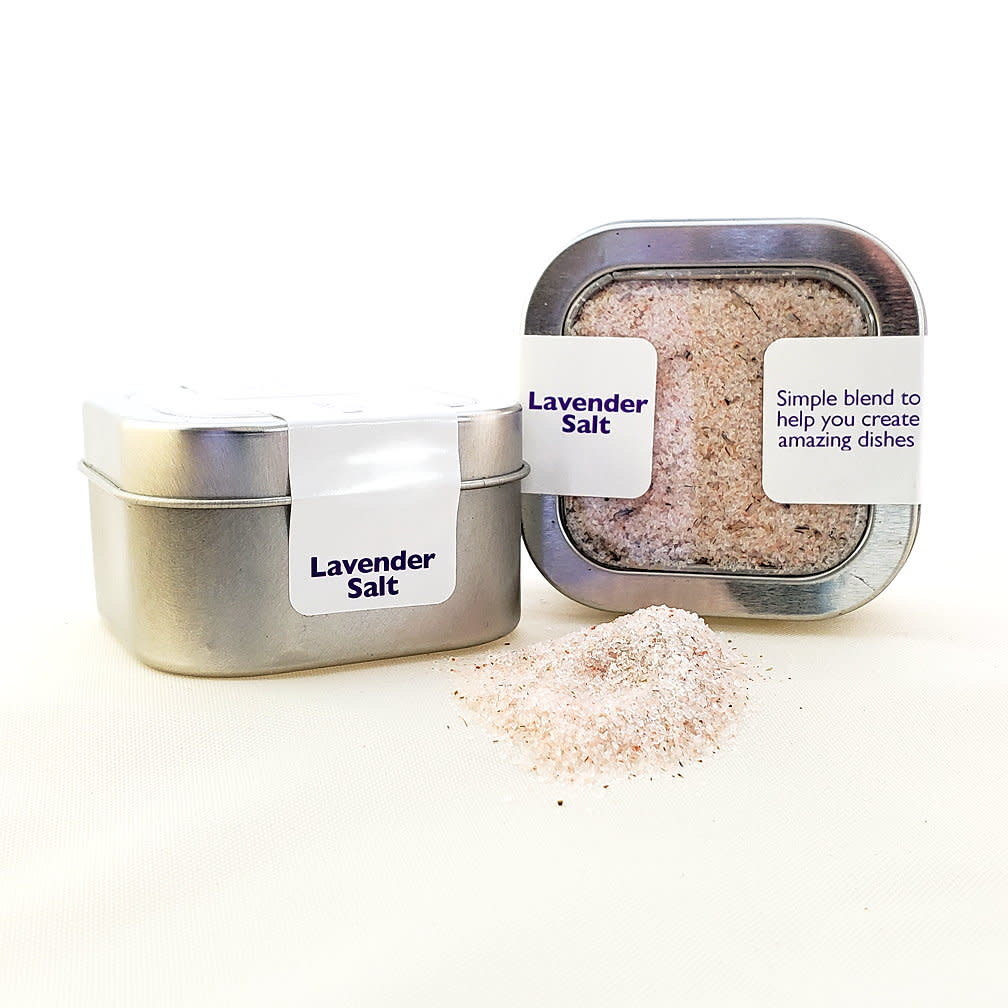 Salt, Lavender - Ground in tin-1