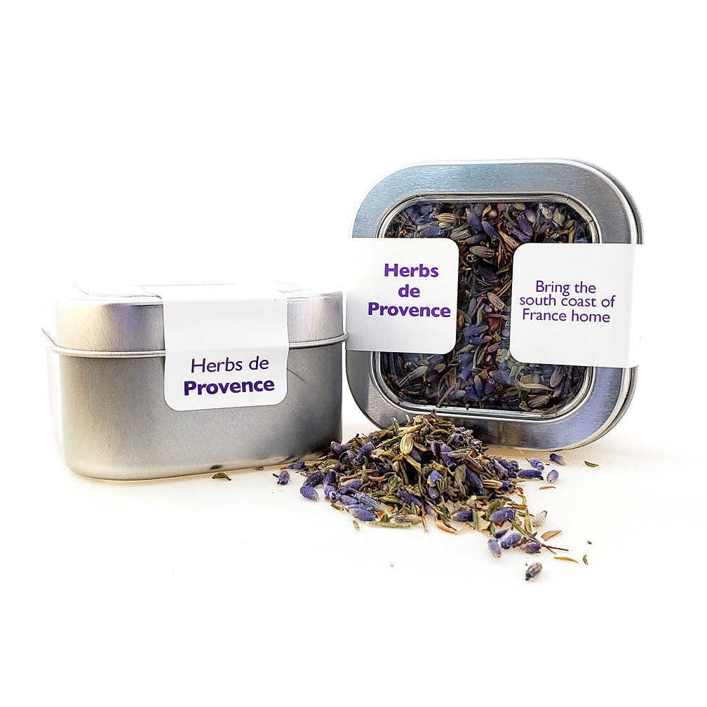 Lavender Wind Herbs de Provence in Tin, 1.5oz