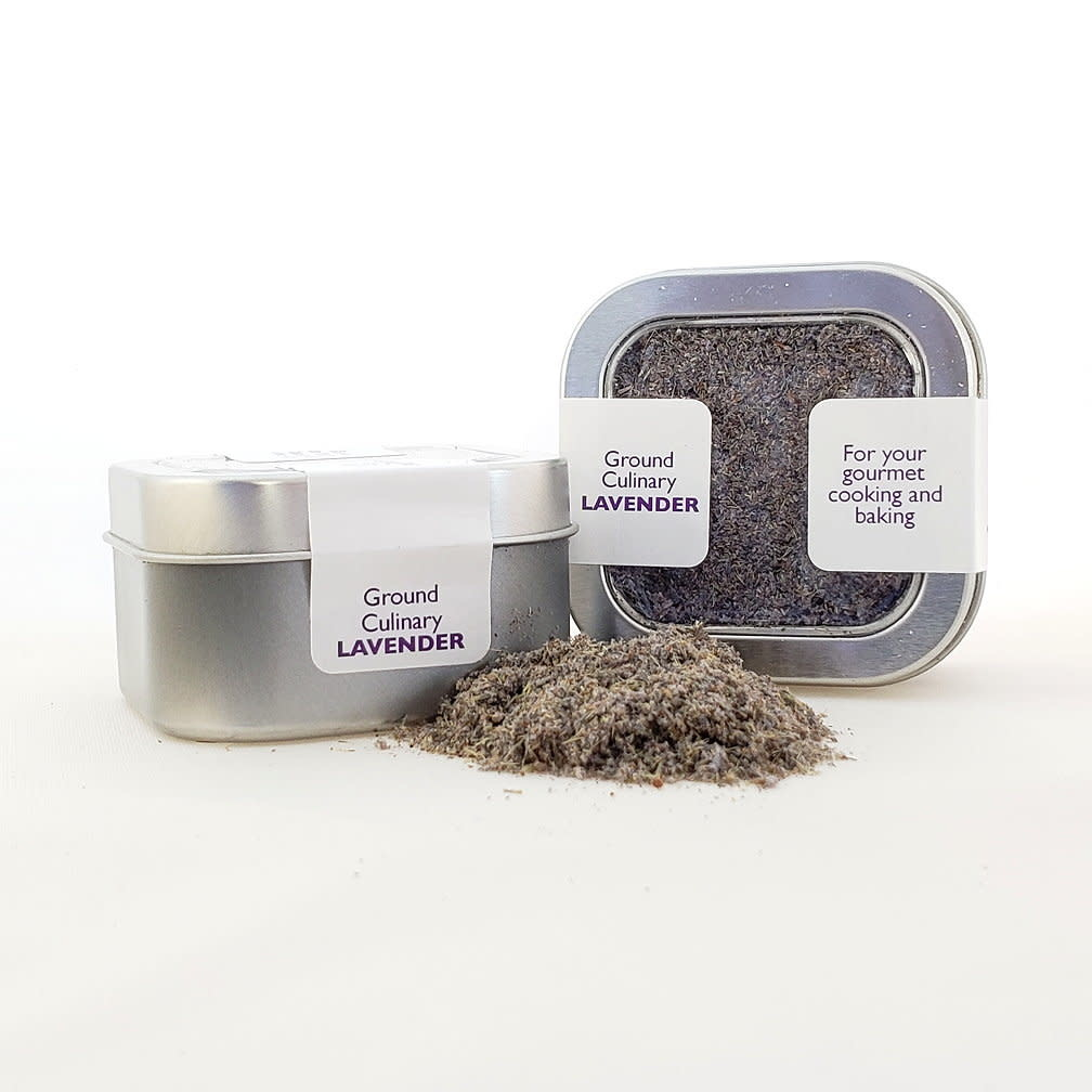 Culinary Lavender, ground, .7 oz tin-1