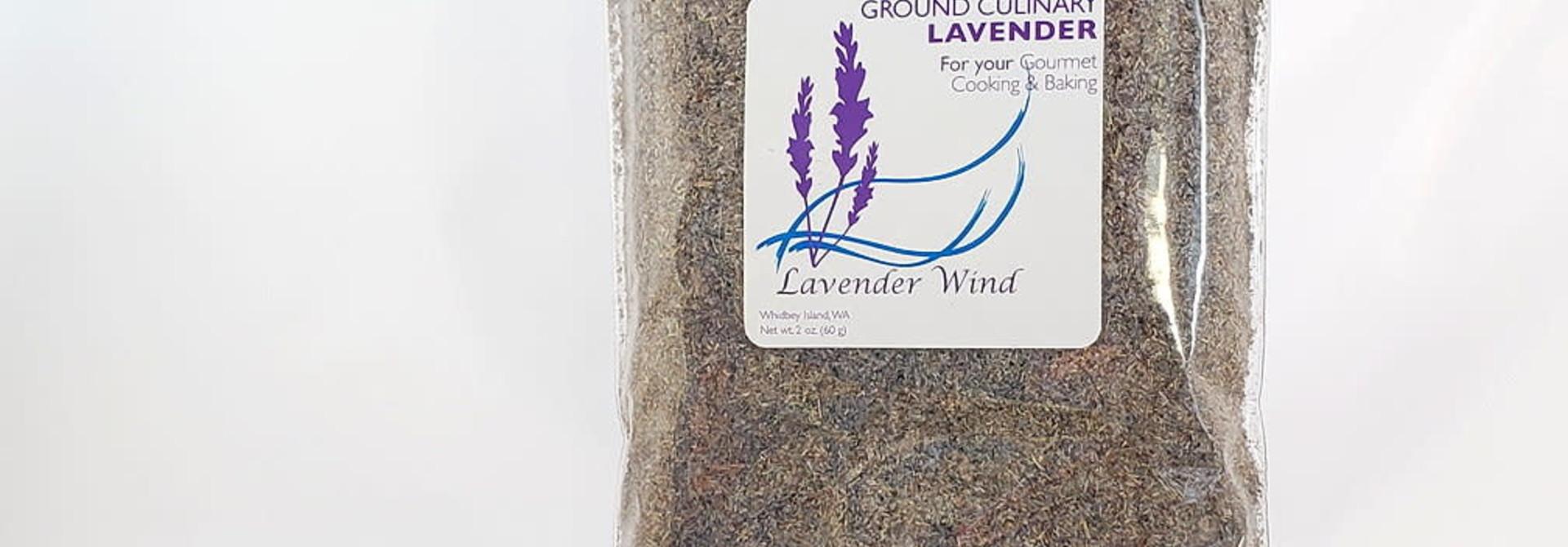 Culinary Lavender, ground 2 oz Refill Bag