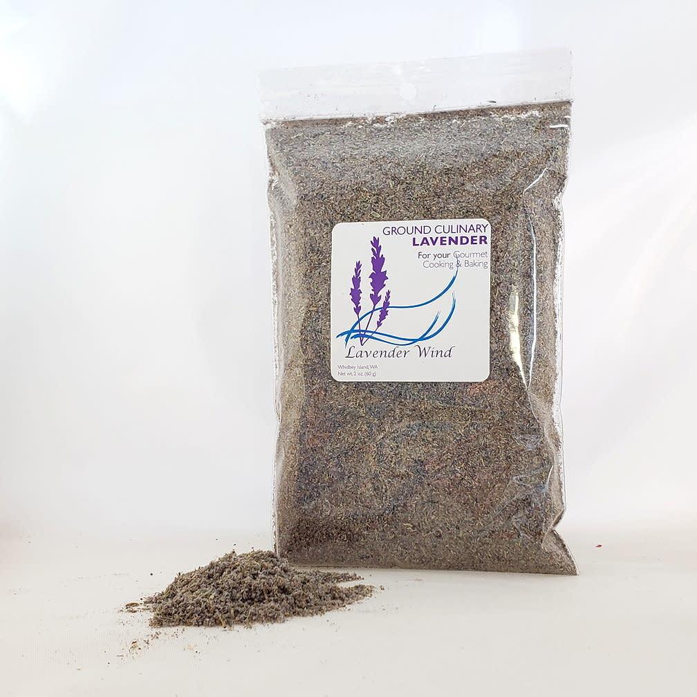 Culinary Lavender, ground 2 oz Refill Bag-1
