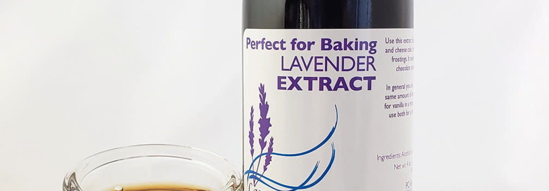 Lavender Baking Extract Large