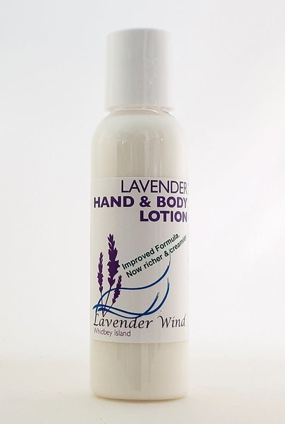 Lavender Hand & Body Lotion - Small 2oz