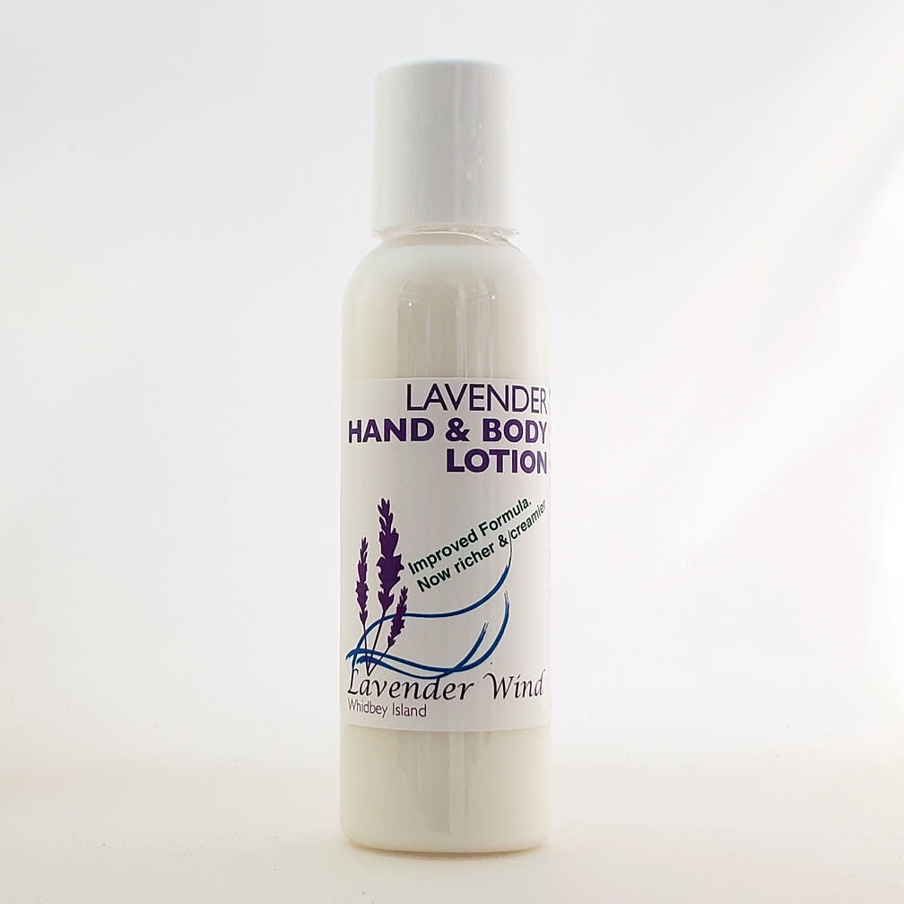 Lavender Wind Lavender Hand & Body Lotion - Small 2oz