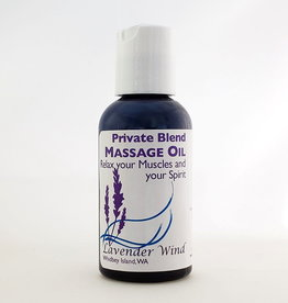 Lavender Wind Private Blend Massage Oil - 2oz