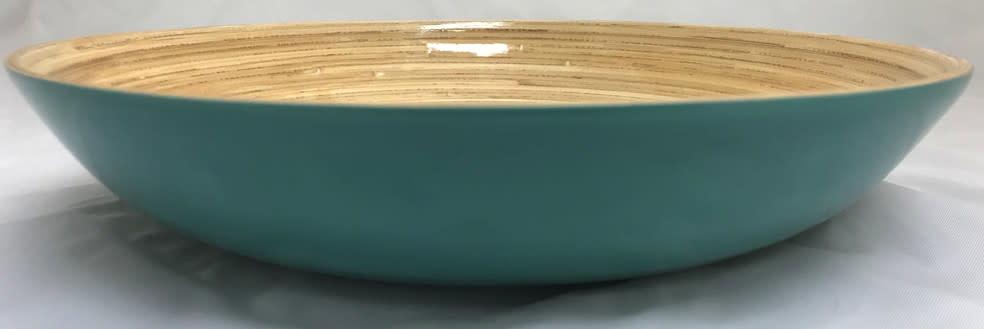 """albert L. (punkt) Inc Bamboo Bowl, Shallow 11.7""""x2"""""""