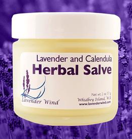 Lavender Wind Lavender  Calendula Herbal Salve