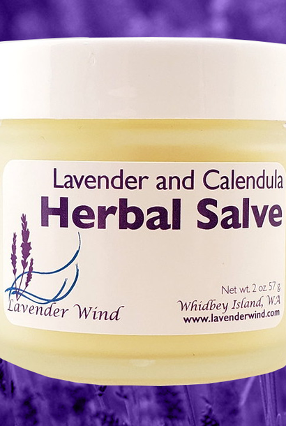 Lavender  Calendula Herbal Salve