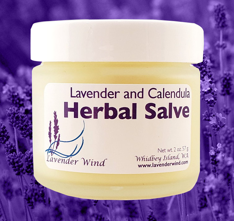 Lavender  Calendula Herbal Salve-1