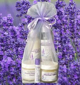 Lavender Wind Gift Bag: Lavender Skin Rejuvenation Kit