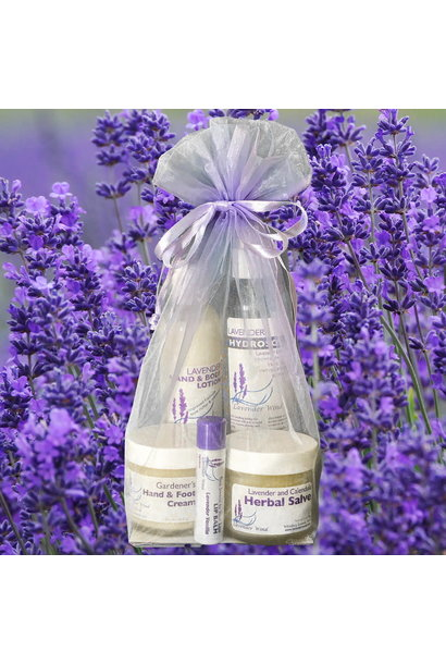 Gift Bag:  Lavender Skin Rejuvenation Kit