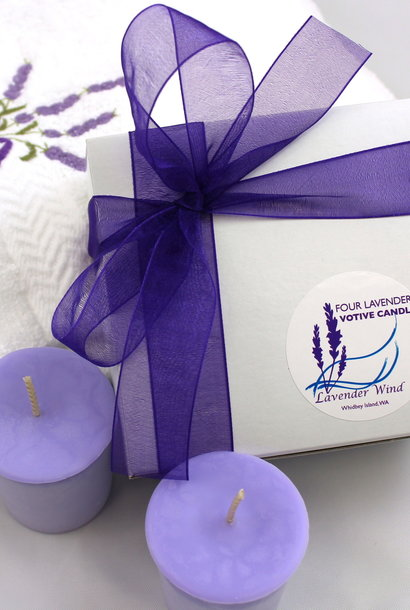 Candle, Votive Gift Box 4-Box