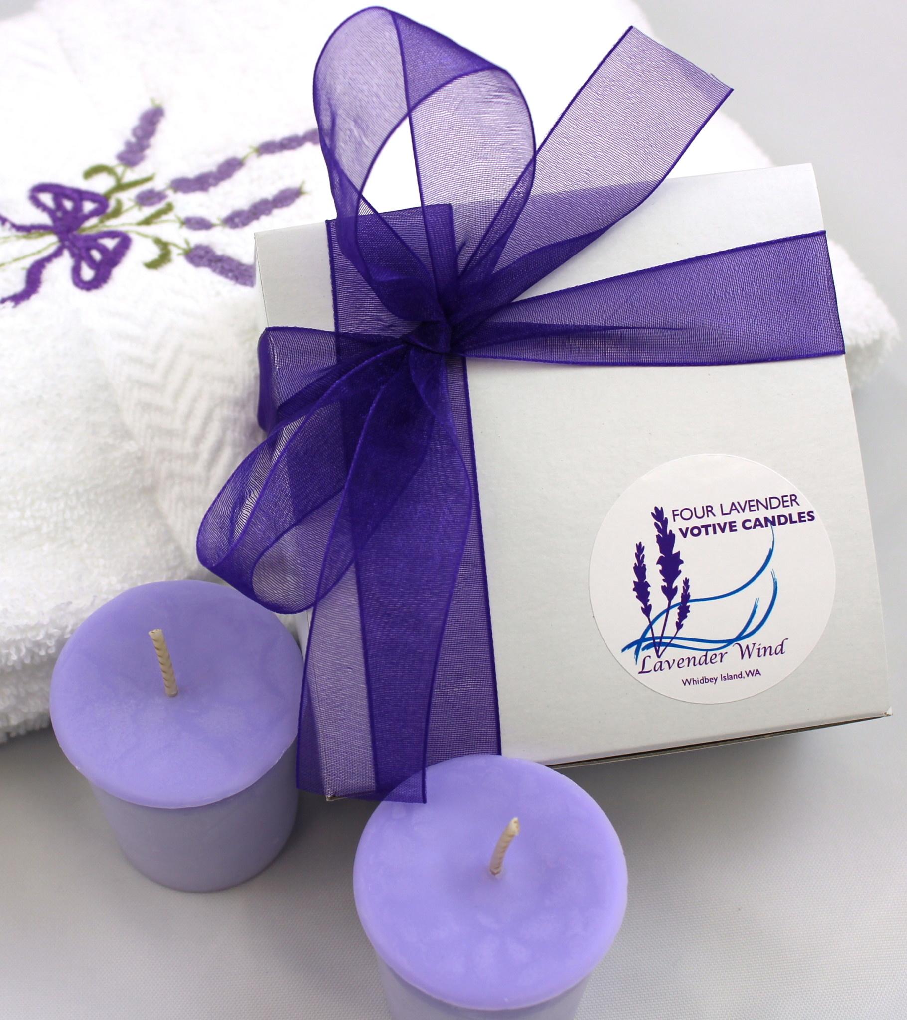 Candle, Votive Gift Box 4-Box-1
