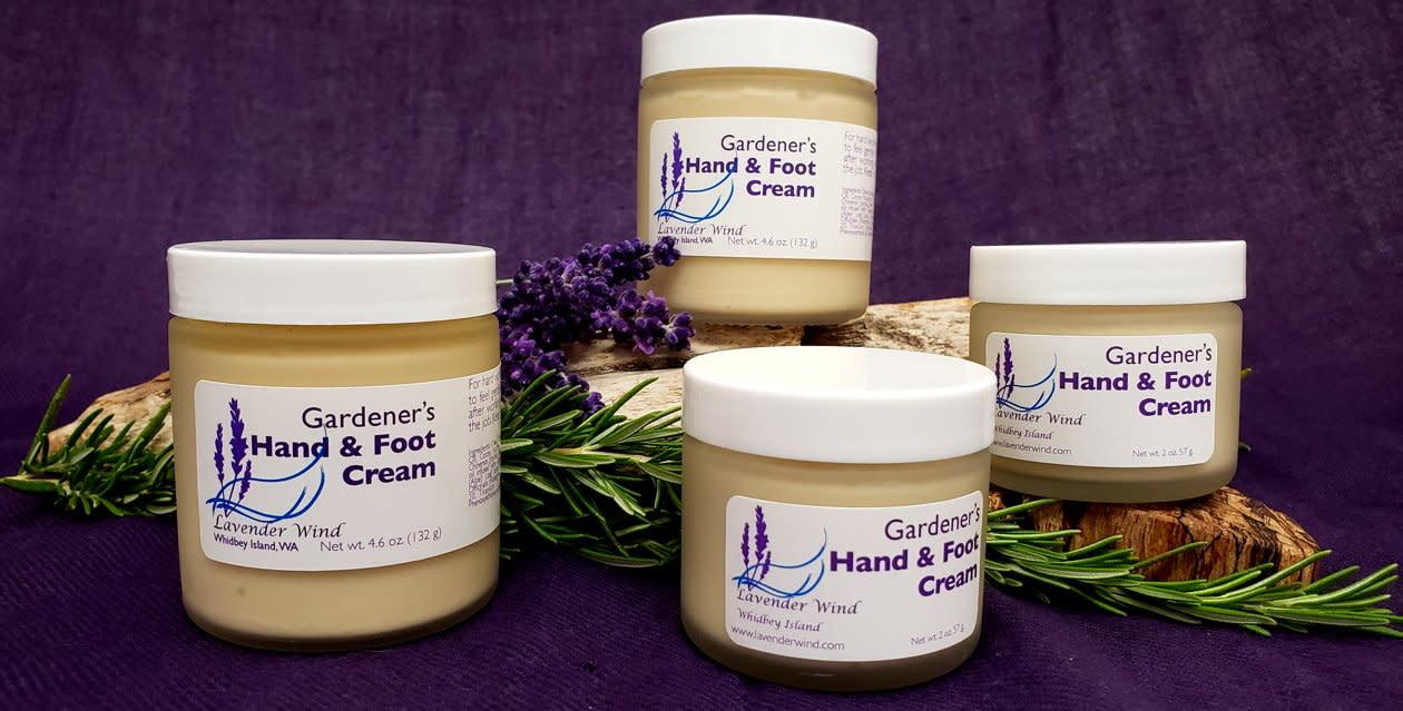Gardener's Hand & Foot Cream - 4 oz-1