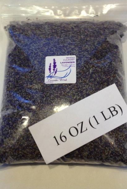 Whole Culinary Lavender - 2019 - 1 lb.