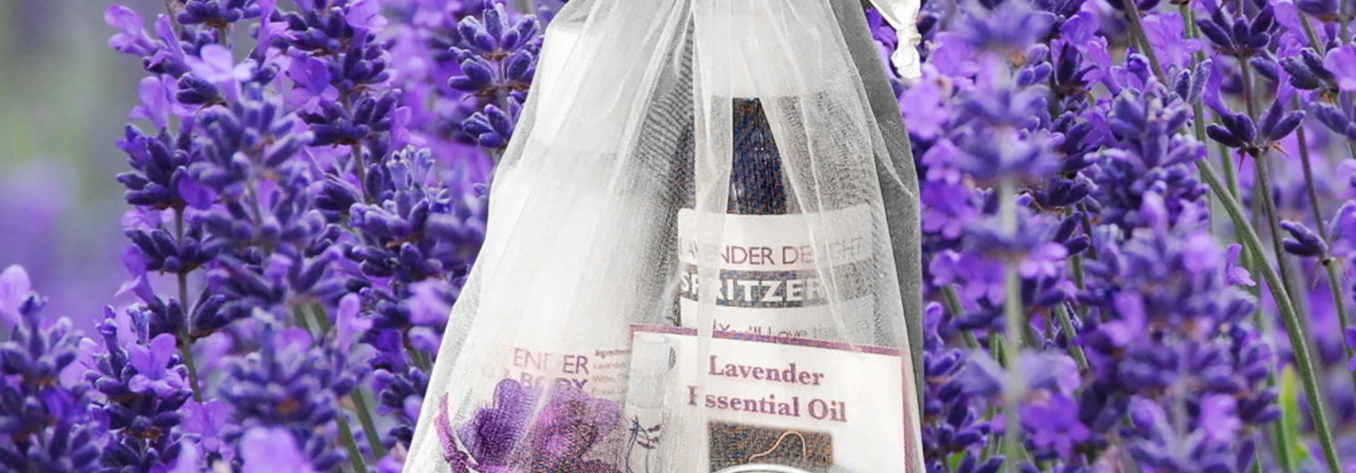 Lavender Gift Sets and certificates