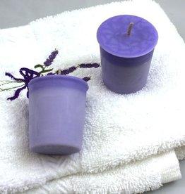 Lavender Wind Candle, Votive Lavender Tranquility