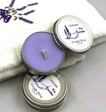Lavender Wind Candle in a Tin 2 oz.