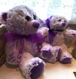 "Lavender Wind Stuffed Bear, ""Lavendula"" Large 16"""