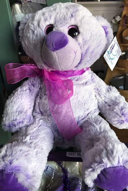 "Stuffed Bear, ""Lavendula"" 16"""