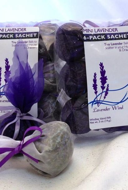 Mini Lavender Sachet 6-Pack