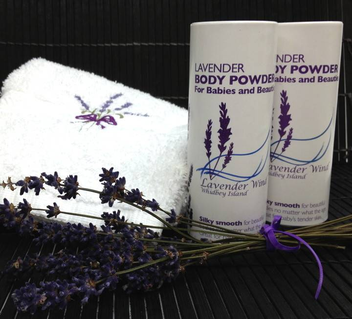 Lavender Wind Lavender Body Powder