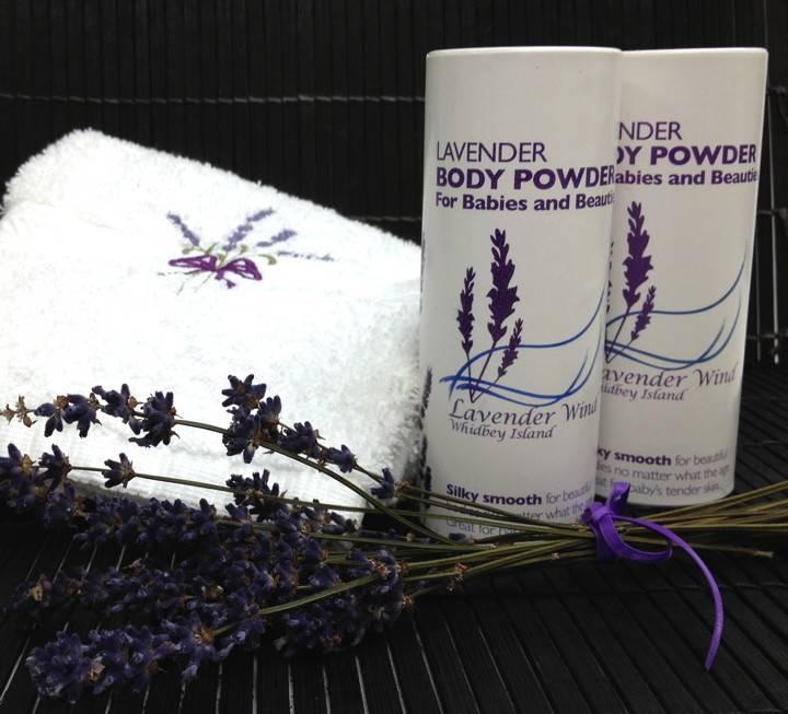Lavender Wind Lavender Body Powder