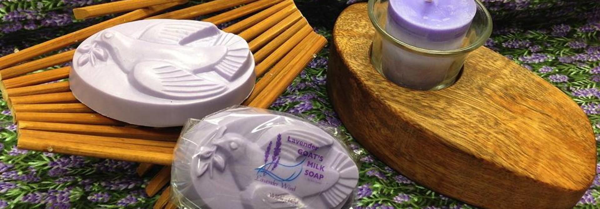 Goat's Milk Soap Dove Lavender