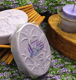 Lavender Wind Goat's Milk Soap Hummingbird Lavender