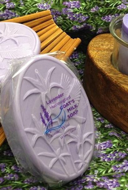 Goat's Milk Soap Hummingbird Lavender