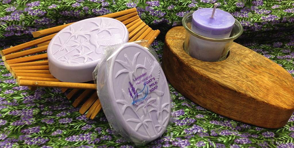 Goat's Milk Soap Hummingbird Lavender-1