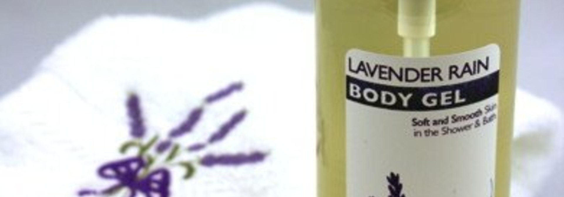 Lavender Rain Body Gel