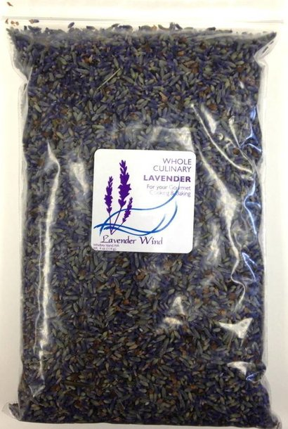 Whole Culinary Lavender - 2019 - 4 oz.