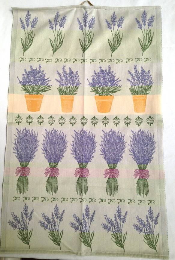 Tea Towel - Swedish, Lavender, Rectangle-1